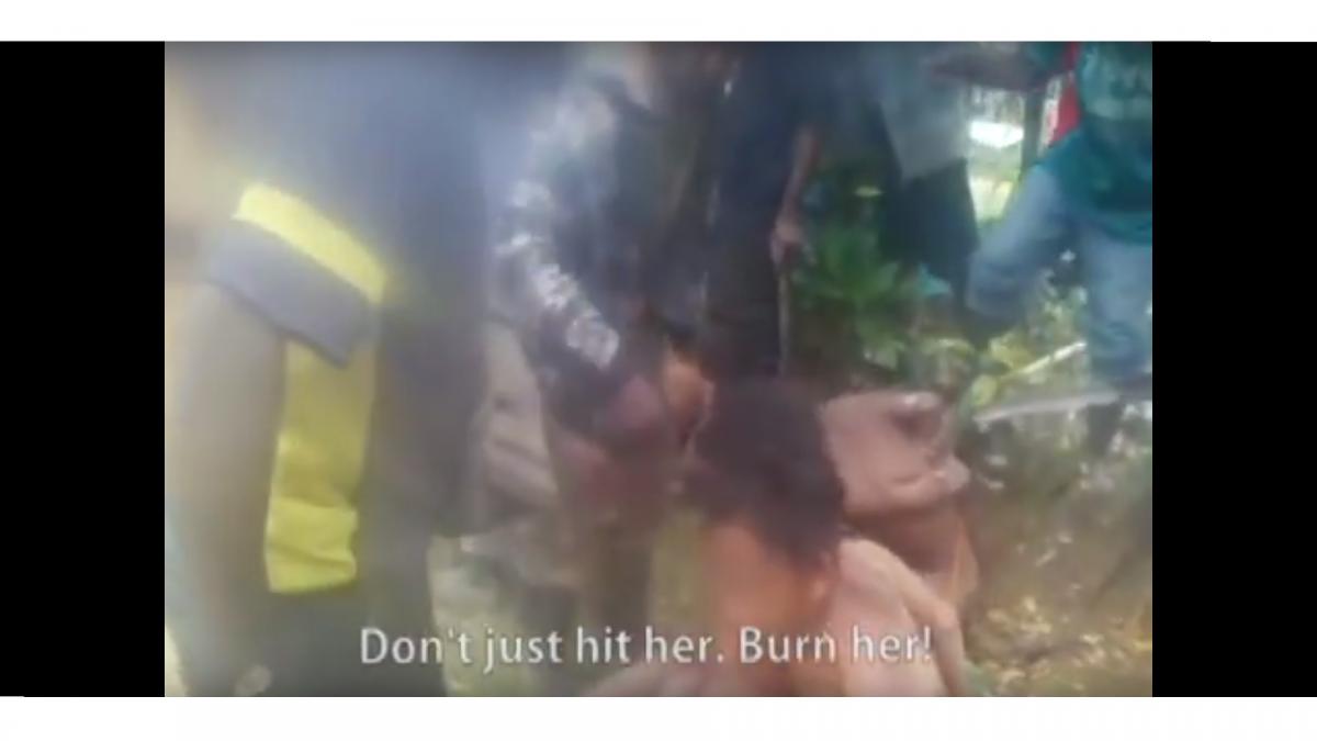 Papua New Guinea torture video
