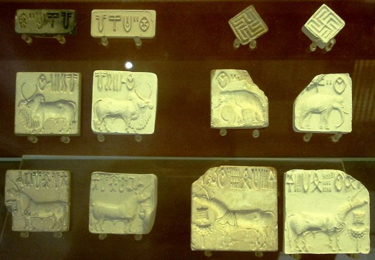 collection of indus seals