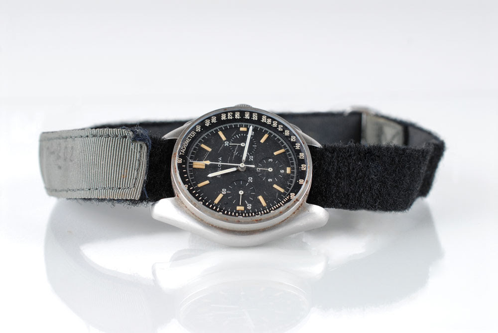 Apollo 15 astronaut dave scott 39 s bulova watch sells for for Astronaut watches
