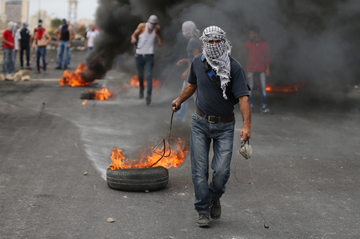 Israel Palestine unrest 2015