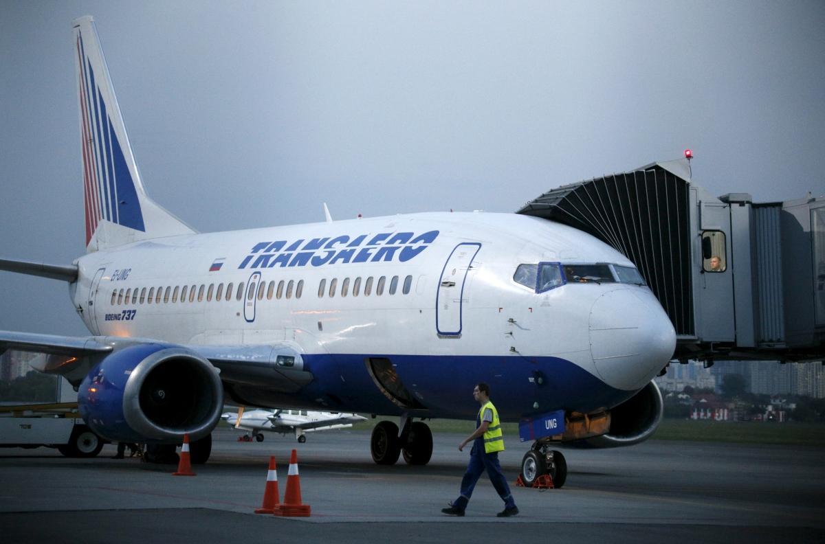 Transaero Boeing 737, Kiev