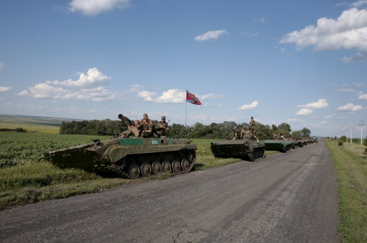 Donetsk People's Republic forces, Hrabove