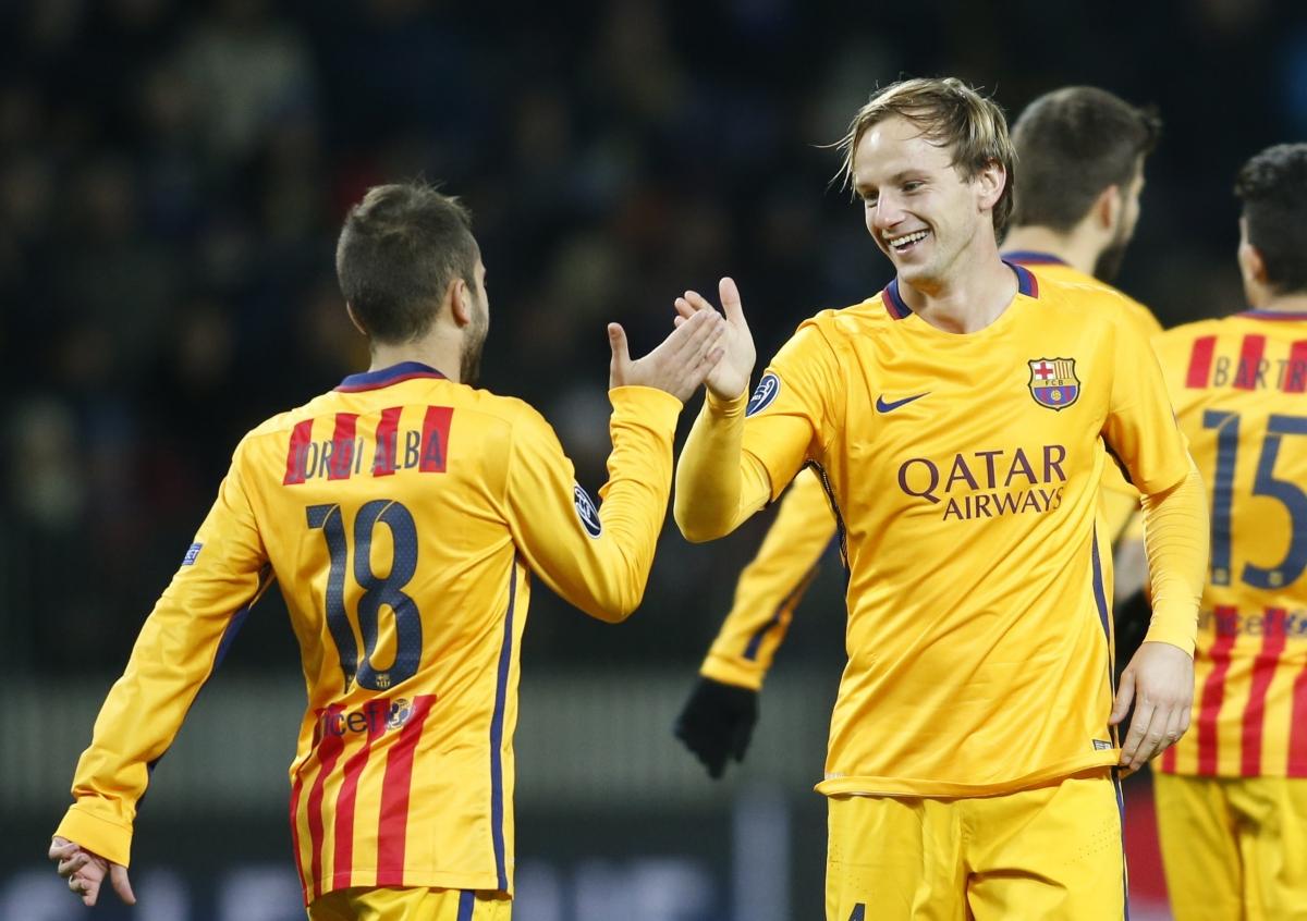Jordi Alba & Ivan Rakitic