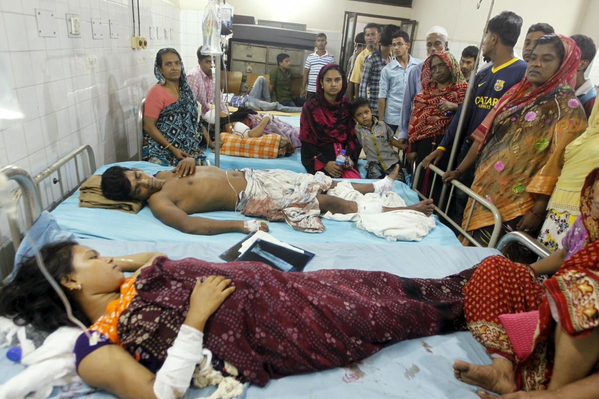 Bangladesh blast victims