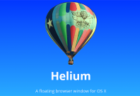 Helium app for Mac OS X