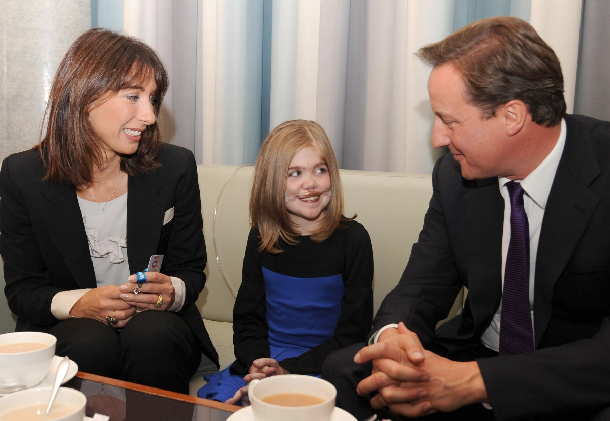 Kirsty Howard meets David Cameron