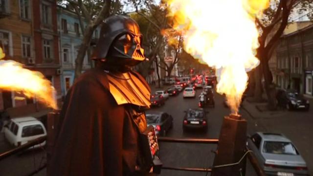 Darth Vader in Odessa