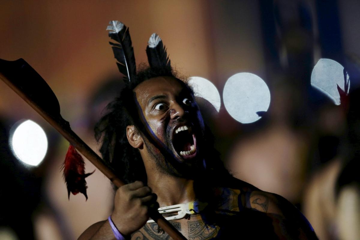 Maori At World Indigenous Games