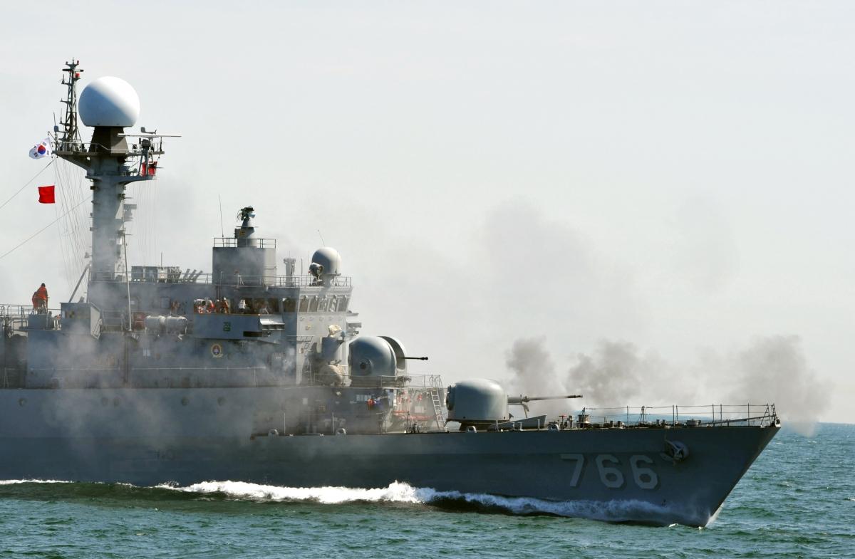 South Korea patrol vessel