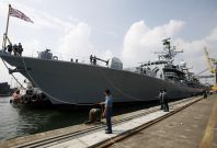 HMS Richmond in Jakarta