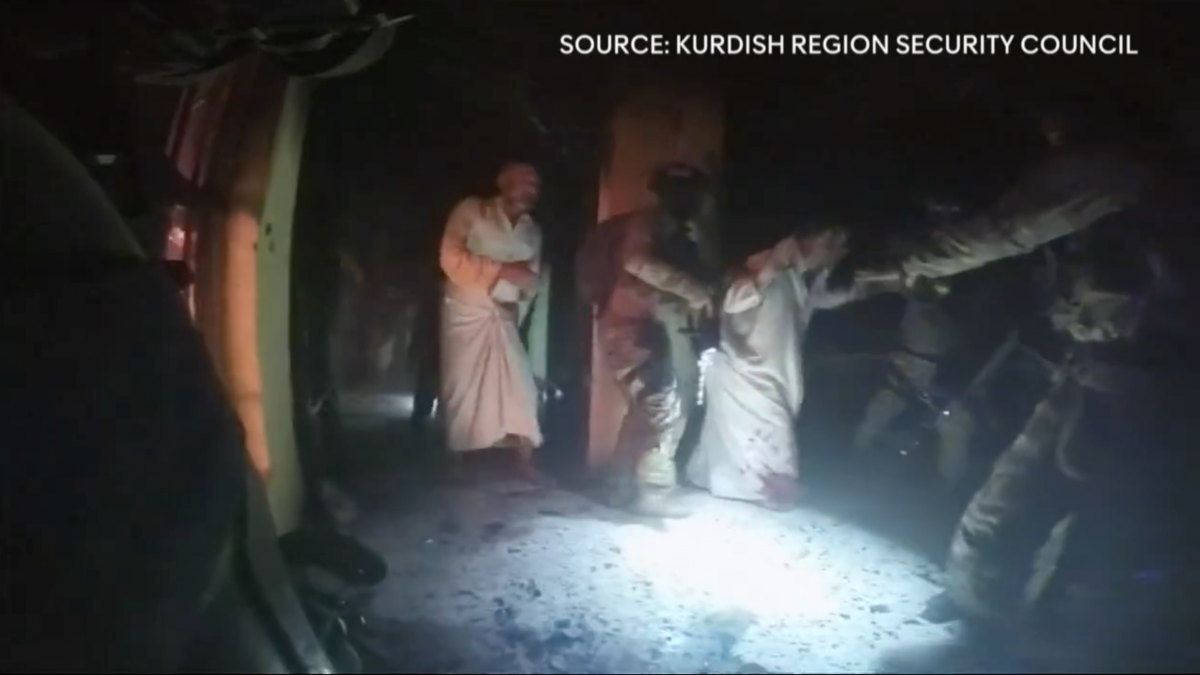 Isis video footage rescued hostages