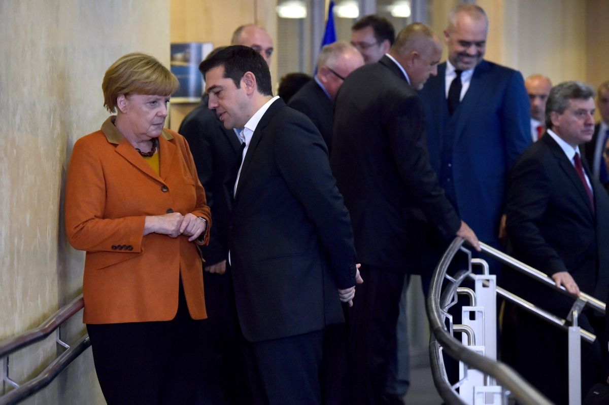 Angela Merkel & Alexis Tsipras