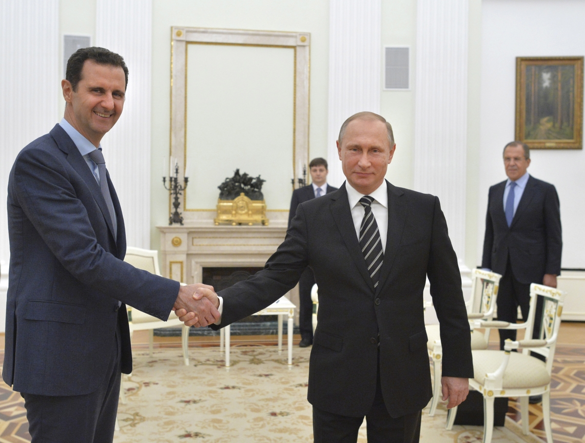 Bashar al-Assad & Vladimir Putin