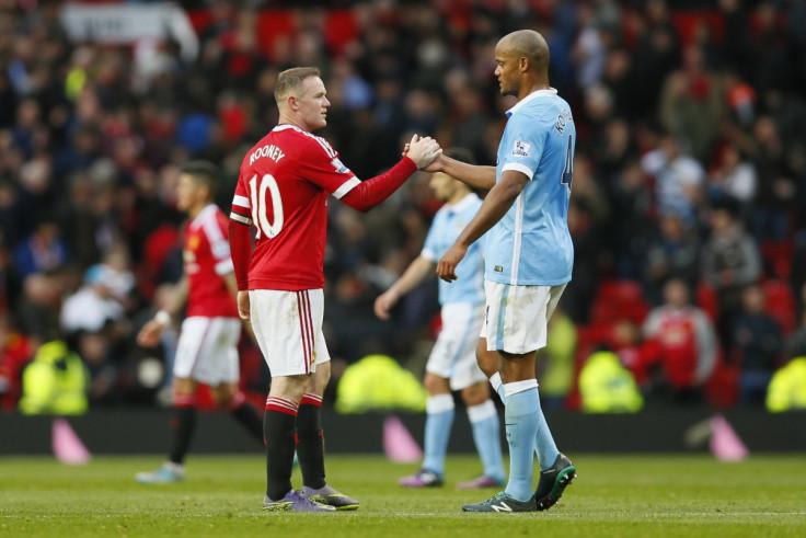 Wayne Rooney & Vincent Kompany