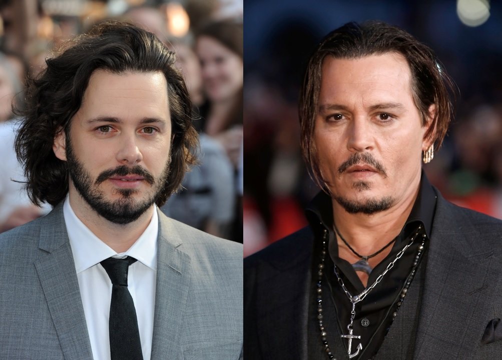 Edgar Wright and Johnny Depp