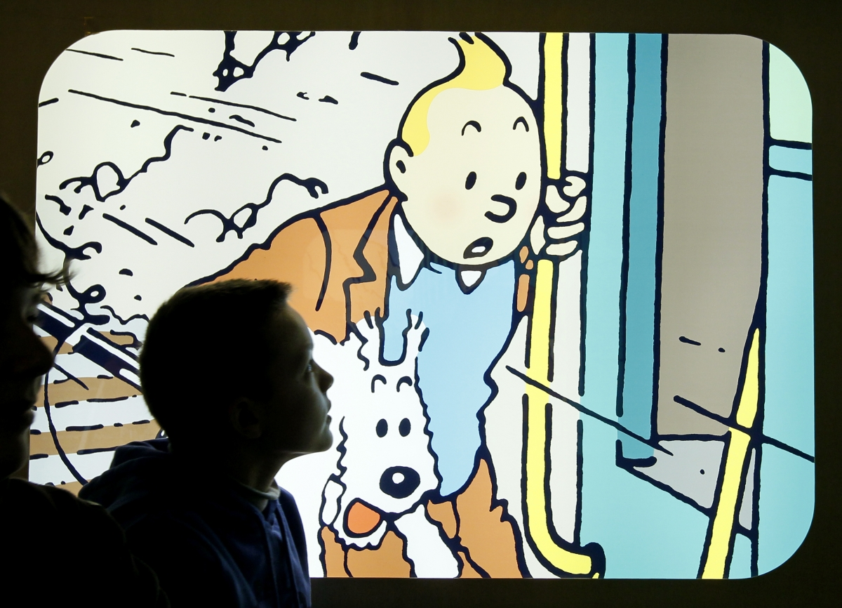 Herge drawing of Tintin and Snowy sells for 500000 in Paris auction