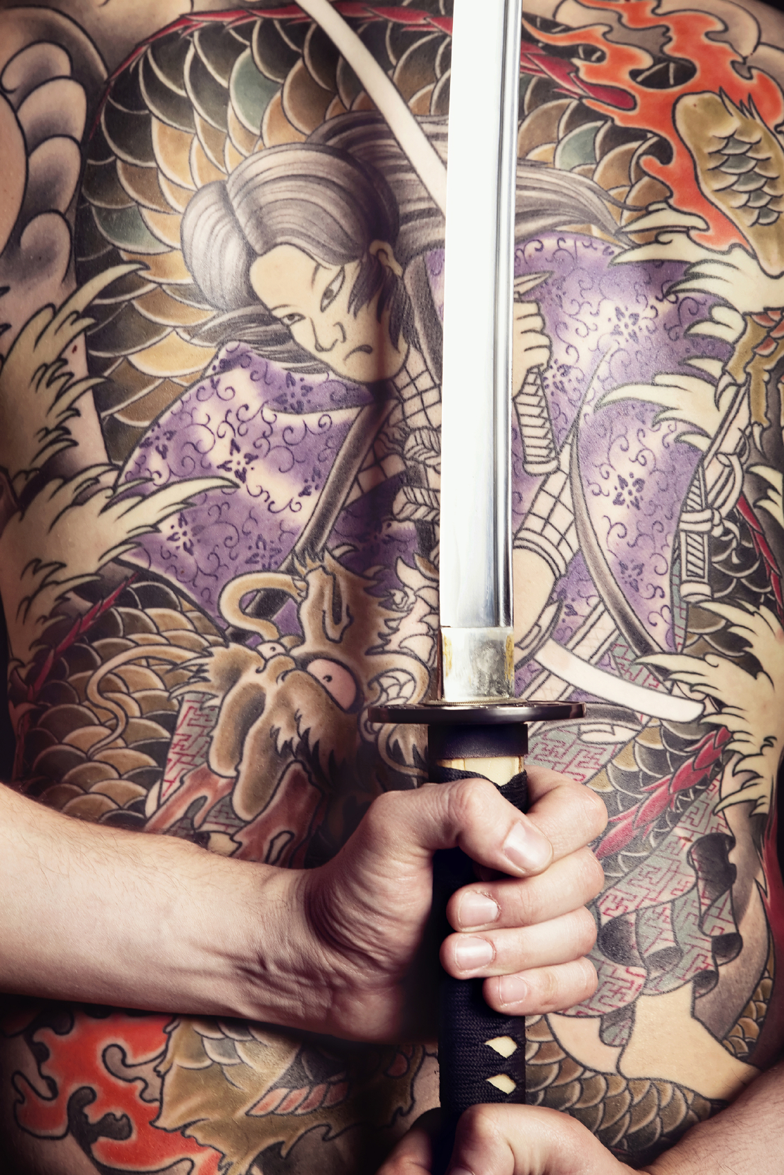 The Yakuza are famed for their elaboratetattoos
