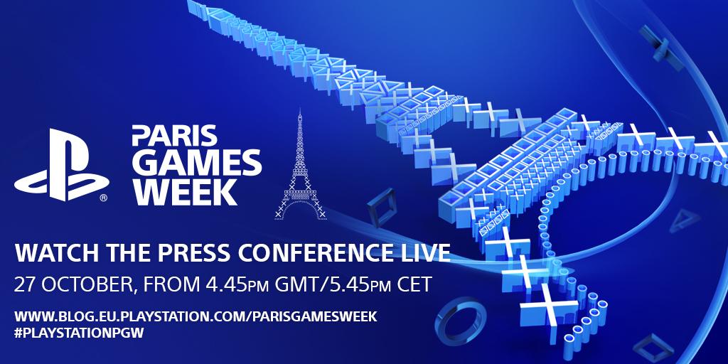 Sony PS4 Paris Games Week PGW