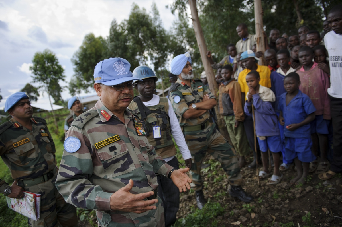 MONUSCO forces in DRC