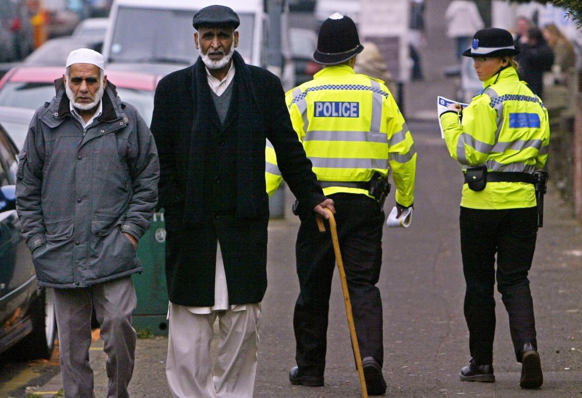 Police Muslims UK