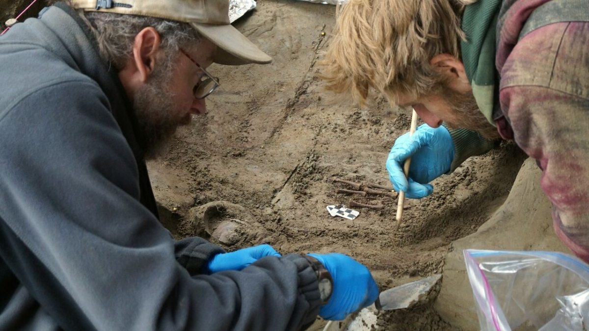 ice age infant burial