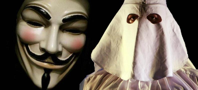 anonymous ku klux klan kkk ferguson
