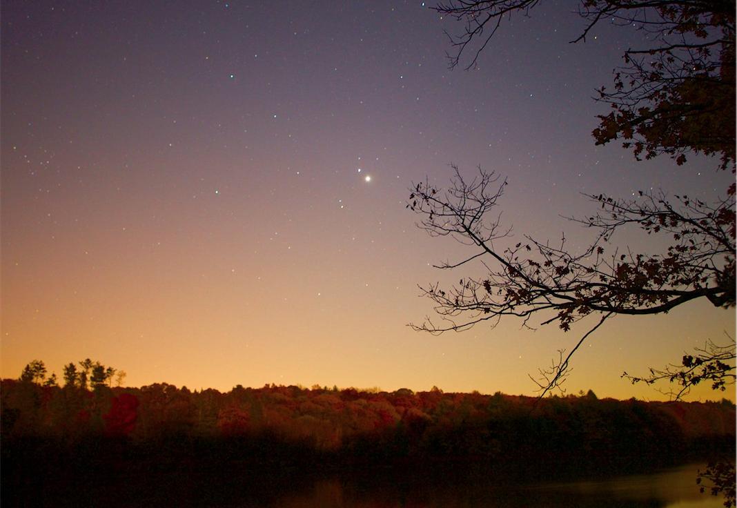 Venus Mars Jupiter rare alignment