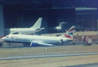 British Airways crash landing Johannesburg