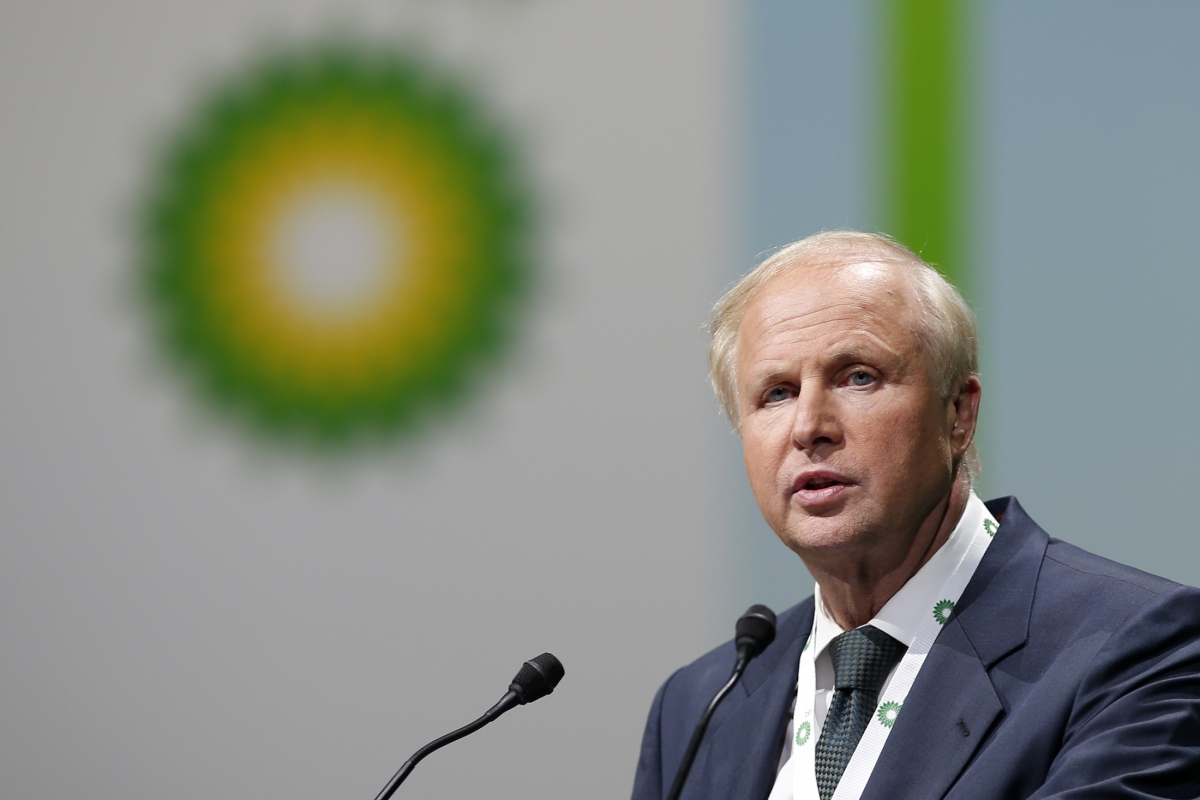 BP's Bob Dudley