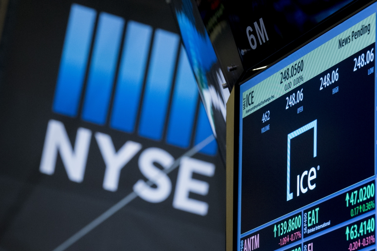 NYSE's owner to acquire Interactive Data from Silver Lake and Warburg Pincus for about $5.2bn