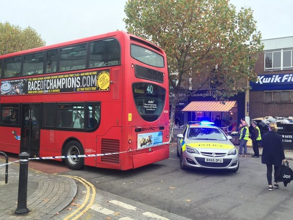 Dulwich police incident