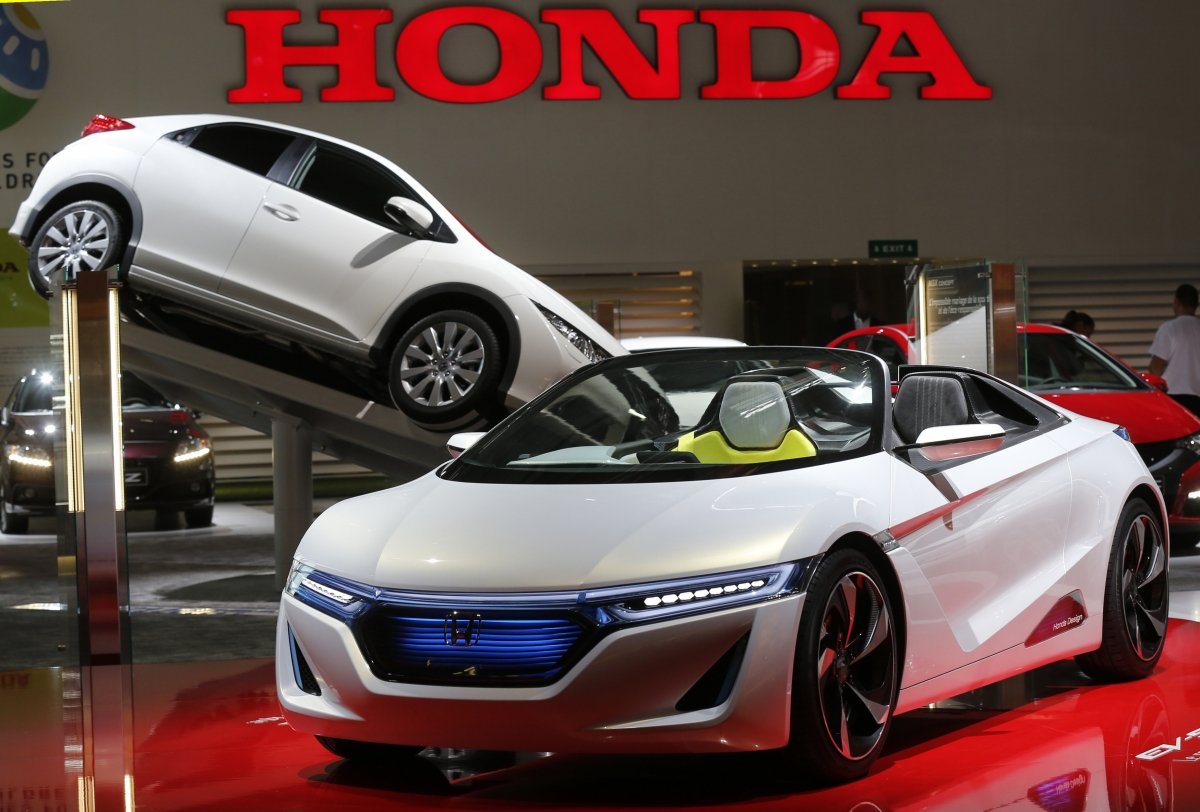 electric Honda concept car