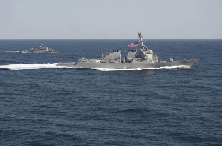 USS Lassen South China Sea China US