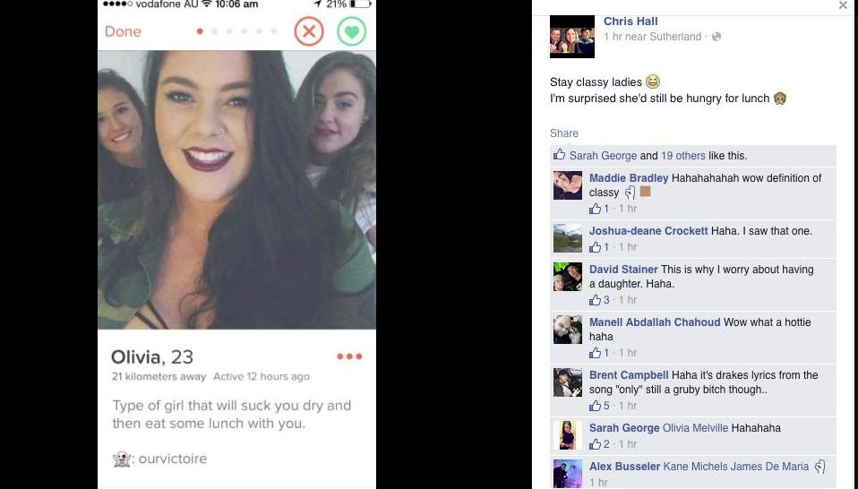 slut shaming post on facebook