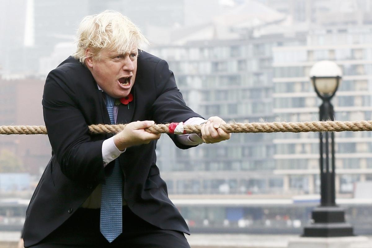 Boris Johson Tug-of-War