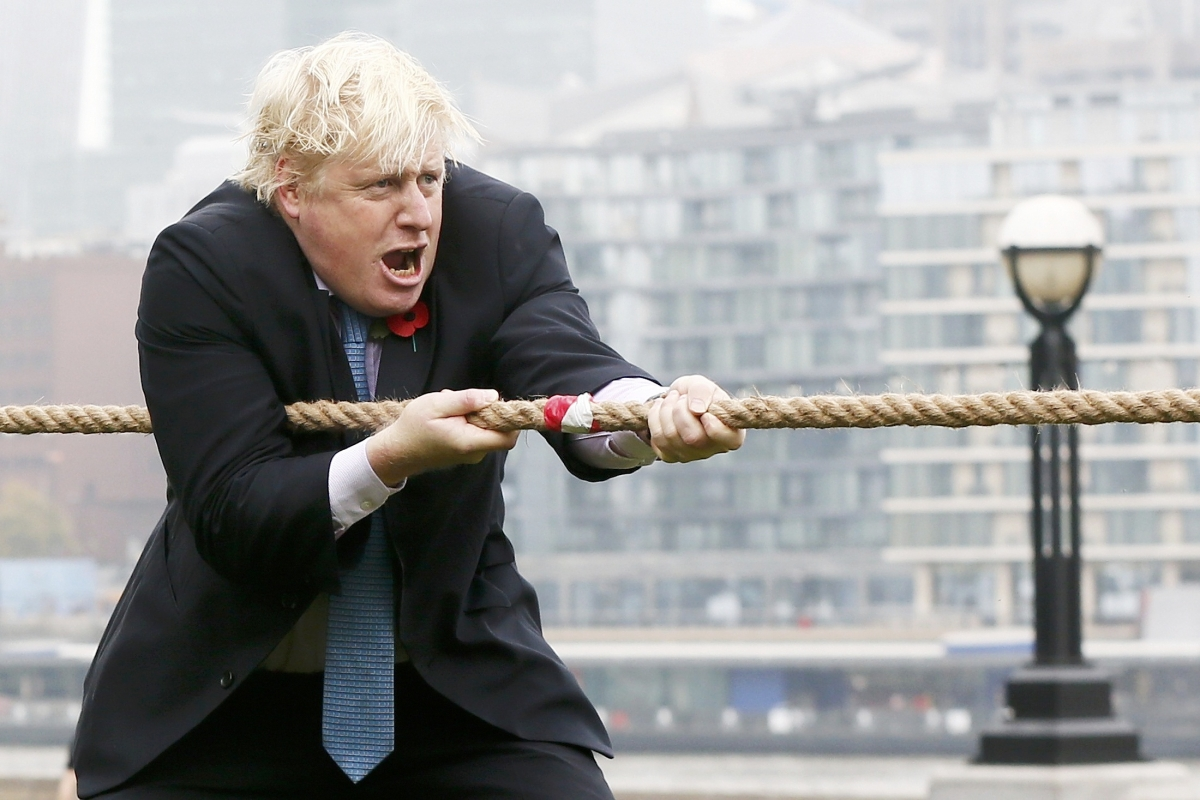 Boris Johson Tug-of-War