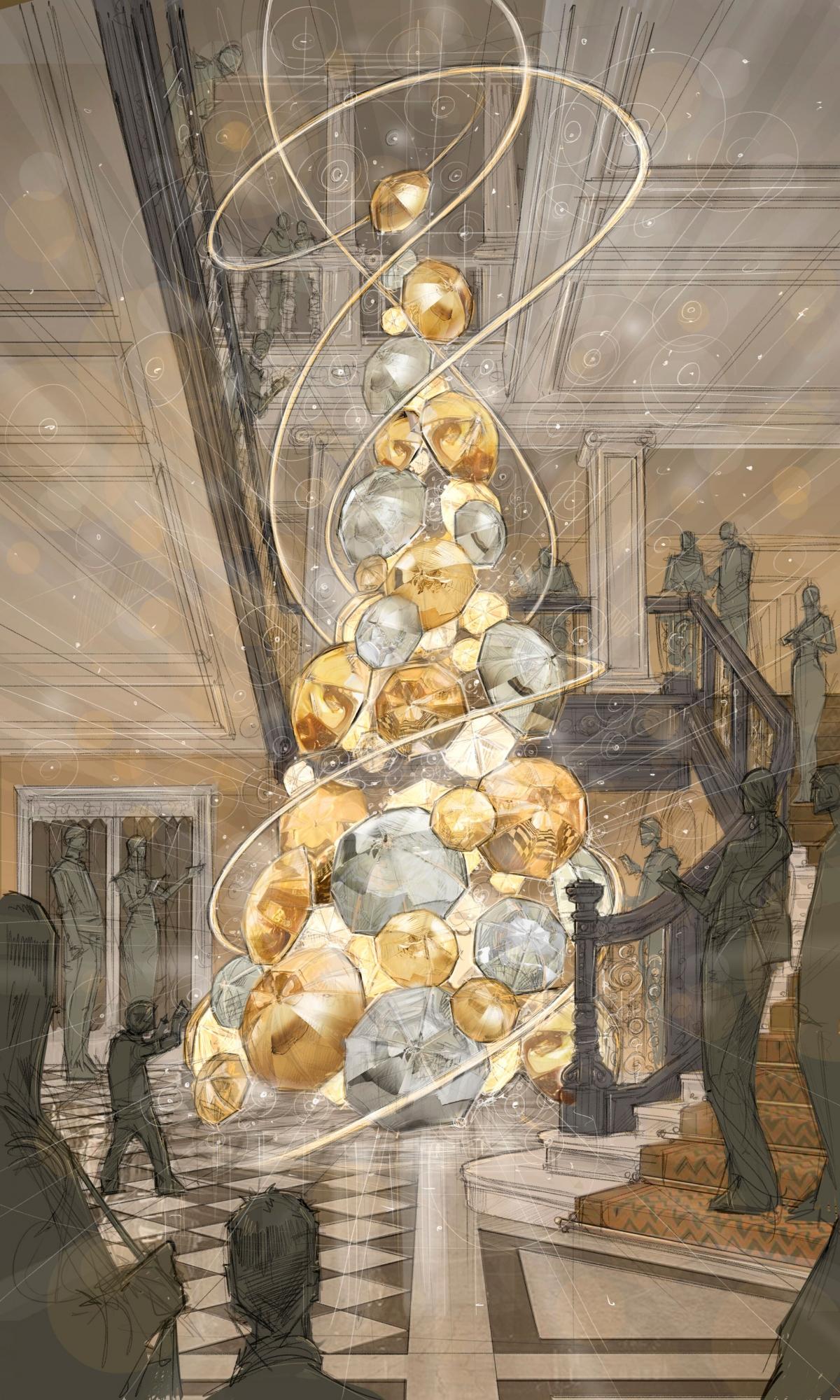 Burberry Christmas Tree Claridge's
