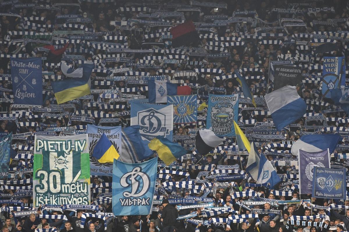 Dynamo Kiev fans