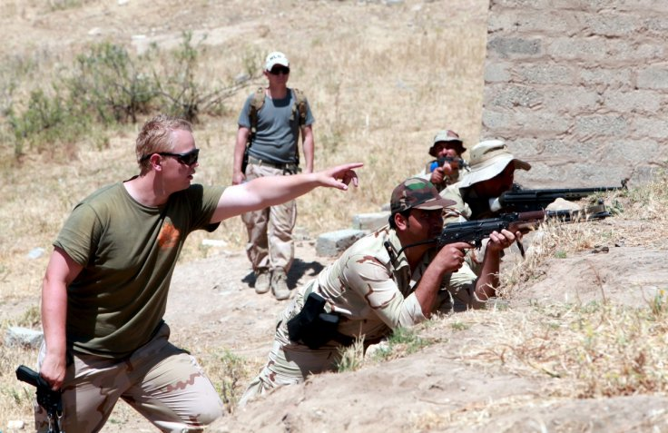 US-trained fighters in Iraq and Syria