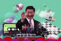 Xi Jinping in the Video about shisanwu