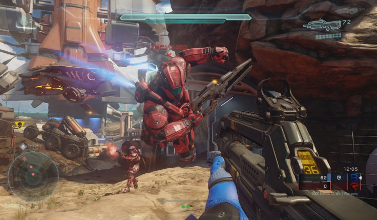 Halo 5 Guardians Warzone Multiplayer