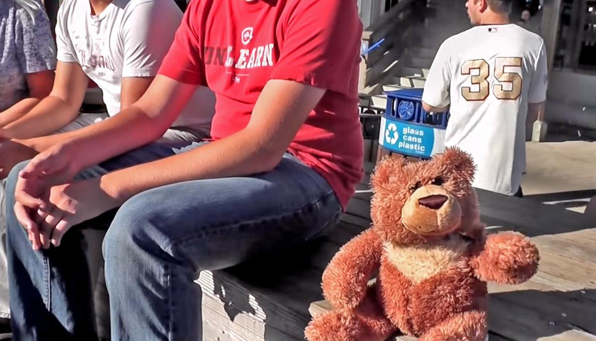 Adawarp's robotic teddy bear