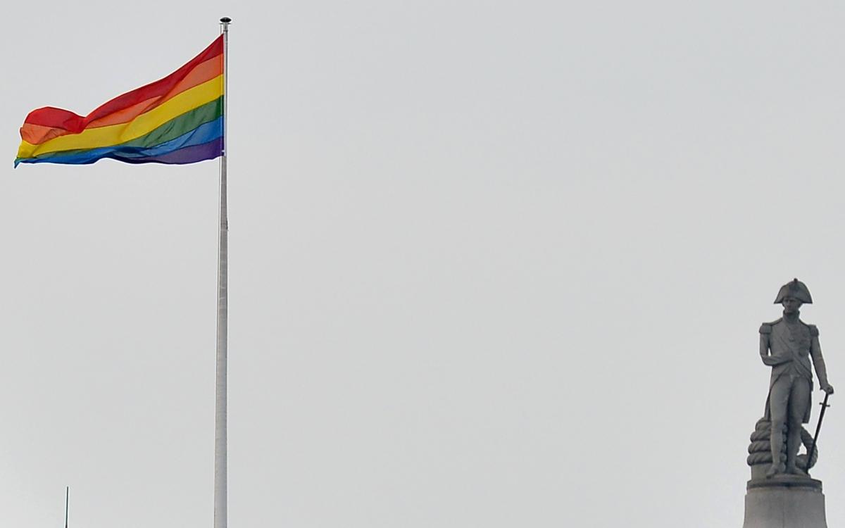 LGBT flag UK