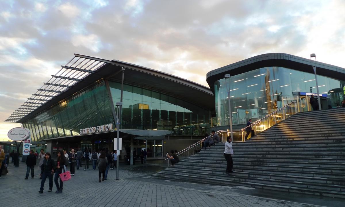 Stratford station London murder