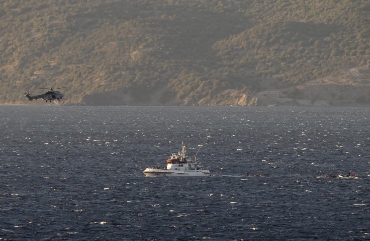 Greek coastguard helicopter