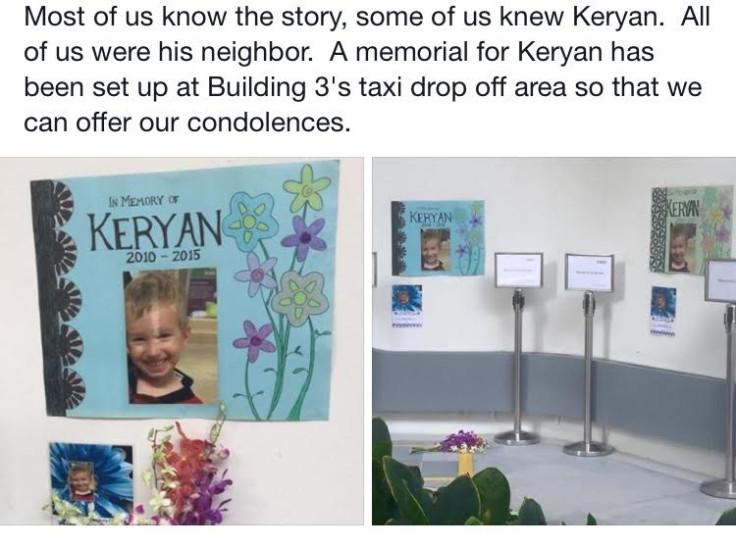 Memorial for Keryan Graffart