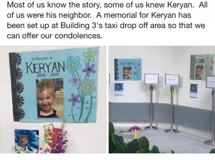 Memorial for Keryan Graffart