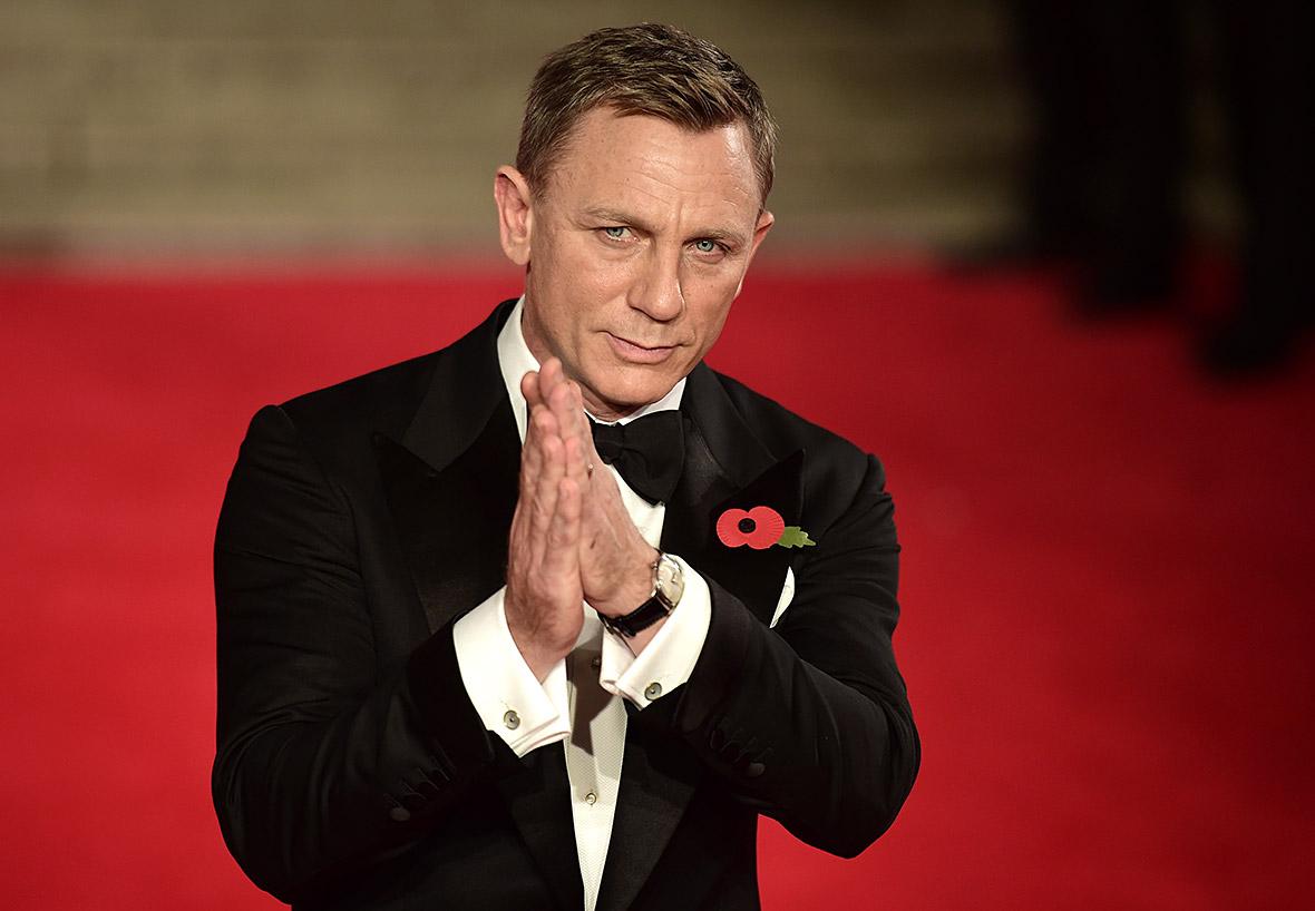 Daniel Craig Bond SPECTRE premiere