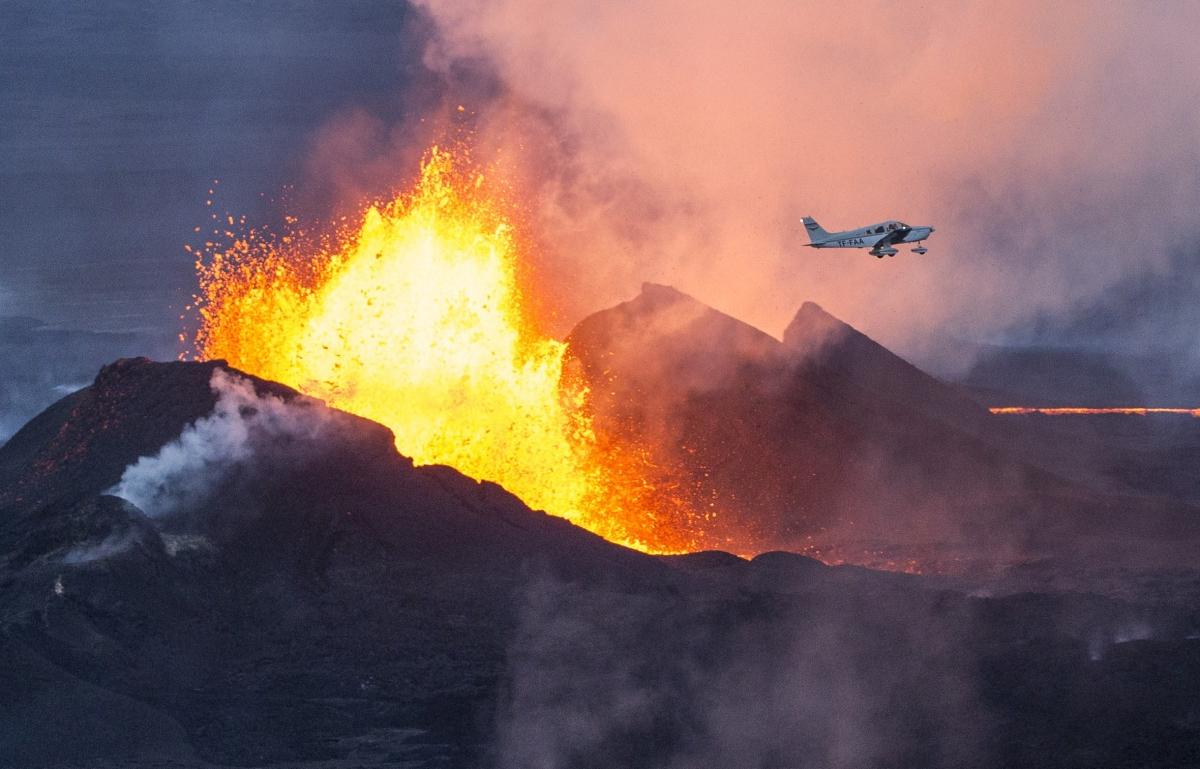 Bardarbunga volcano in southeast Iceland