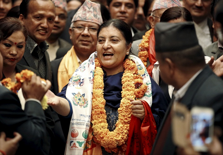 Nepal President Bidhya Bhandari